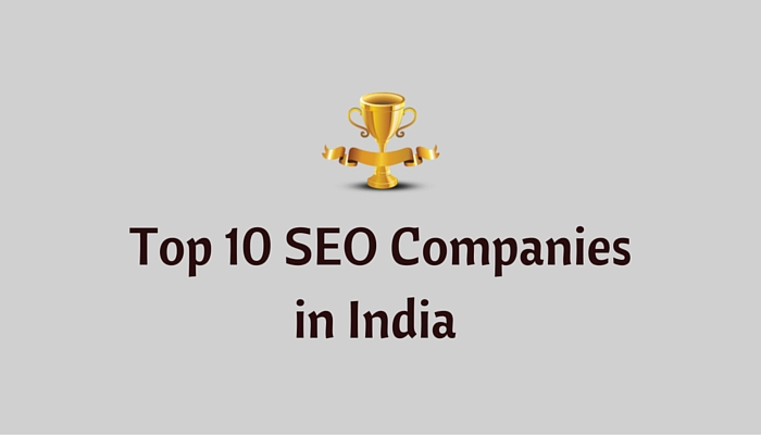 Top 10 Best SEO Companies in india