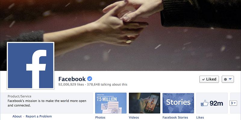 How to get blue tick Facebook profile